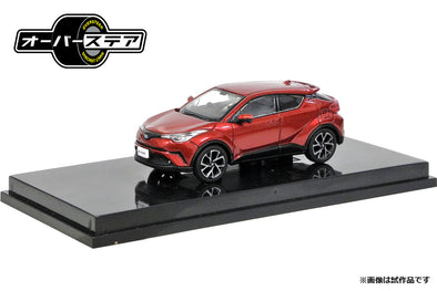 Oversteer 1/64 Toyota C-HR (2017) Sensual Red Mica - OS64014RE