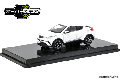 Oversteer 1/64 Toyota C-HR (2017) White Pearl Crystal  - OS64014WH
