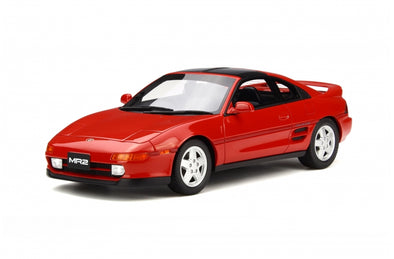Otto Mobile 1/18 Toyota MR2 (RED) - OT234