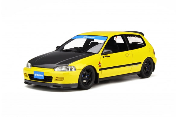 Otto Mobile 1/18 Honda Civic EG6 Spoon Yellow - OT524