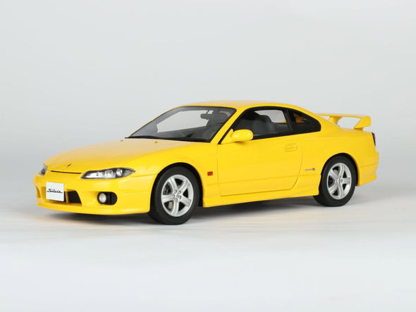 Route Twisk (Otto Mobile) 1/18 Nissan Silvia spec–R AERO (S15) Yellow - OT776