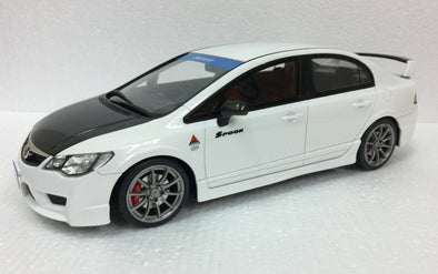 Route Twisk (Otto Mobile) 1/18 Honda Civic Type-R FD2 Spoon White - OT786