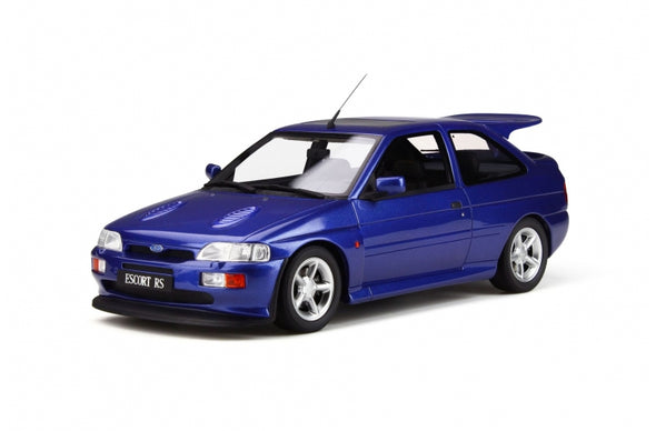 Otto Mobile 1/18 Ford Escort RS Cosworth (Metallic Blue) - OT791