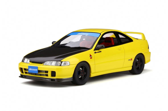 Otto Mobile 1/18 Honda Integra Type-R DC2 Spoon Yellow - OT792