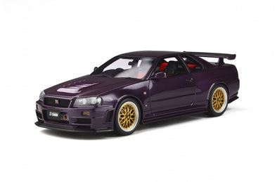 Otto Mobile 1/18 Nismo R34GT-R Z-tune (Midnight Purple) - OT811