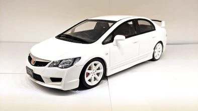 Otto Mobile 1/18 Honda Civic (FD2) Type R (Late Version) Championship White - OT838