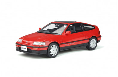 Otto Mobile 1/18 Honda CR-X Mk.2 - Rio Red - OT855