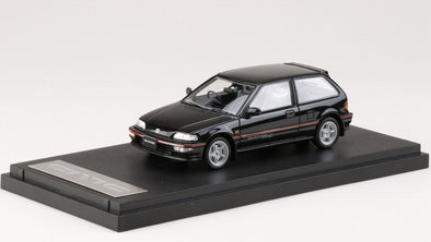 Mark43 1/43 Honda Civic (EF 9) SiR II Mugen RNR equipped Black Metallic - PM4396MBK