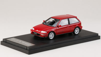Hobby Japan - Mark43 1/43 Honda Civic (EF 9) SiR II Mugen RNR equipped Red - PM4396MR