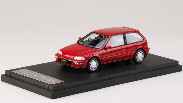 Hobby Japan  - Mark43 1/43 Honda Civic (EF 9) SiR II Red - PM4396R