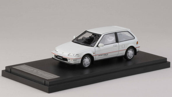 Mark43 1/43 Honda Civic (EF 9) SiR II White - PM4396W