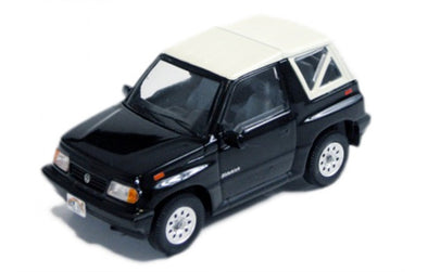 PREMIUM X 1/43 SUZUKI SIDEKICK CONVERTIBLE WITH SOFT TOP - BLACK - PRD330