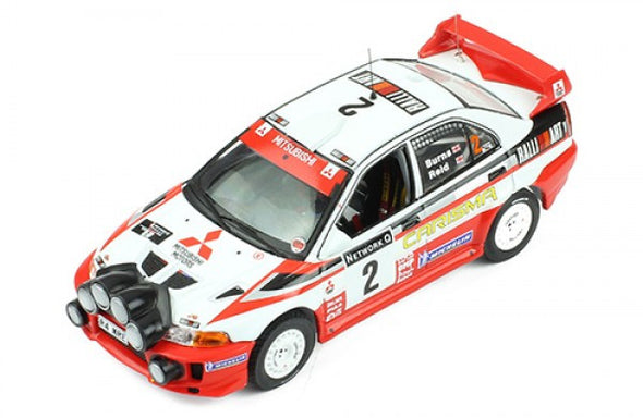 IXO Models 1/43 MITSUBISHI Carisma GT 1998 Rally GB Winner R.Burns/R.Reid - RAM522