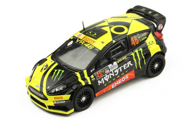 IXO Models 1/43 FORD FIESTA R5 #46 - V. ROSSI-C. CASSINA WINNER MONZA RALLY 2017 - RAM658