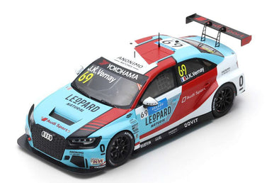 Spark 1/43 AUDI RS3 LMS NO.69 LEOPARD RACING TEAM AUDI SPORT 2ND RACE 2 WTCR 2019 MARRAKESH JEAN-KARL VERNAY  #S8960