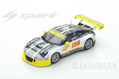 Spark 1/43 Porsche 911 GT3 R No.911 4th Macau GT World Cup 2016  - Earl Bamber  - SA112