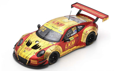 Spark 1/43 PORSCHE 911 GT3 R NO.912 MANTHEY-RACING FIA GT WORLD CUP MACAU 2018 EARL BAMBER - SA164