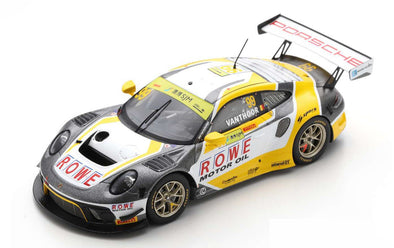 Spark 1/43 PORSCHE 911 GT3 R NO.99 ROWE RACING 2ND FIA GT WORLD CUP MACAU 2019 LAURENS VANTHOOR - SA210