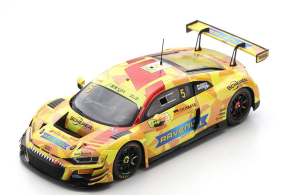 Spark 1/43 AUDI R8 LMS NO.5 PHOENIX RACING FIA GT WORLD CUP MACAU 2019 CHRISTOPHER HAASE - SA213