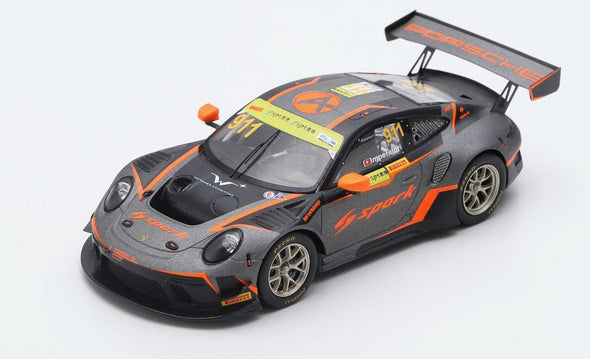 Spark 1/43 PORSCHE 911 GT3 R NO.911 ABSOLUTE RACING FIA GT WORLD CUP MACAU 2019 ALEXANDRE IMPERATORI - SA224