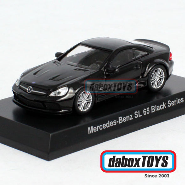 Kyosho 1:64 Mercedes Benz SL 65 Black Series Black