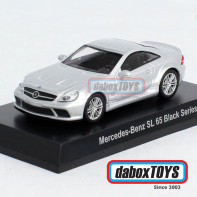 Kyosho 1:64 Mercedes Benz SL 65 Black Series Silver
