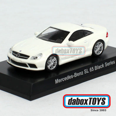 Kyosho 1:64 Mercedes Benz SL 65 Black Series White
