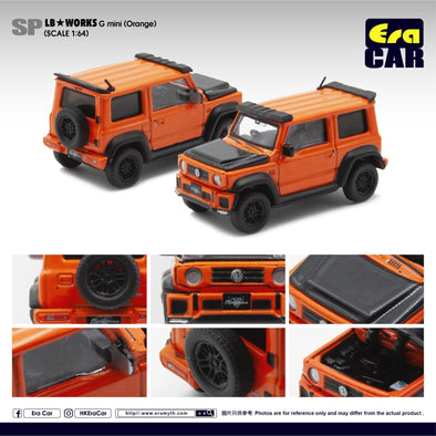 ERA CAR SP19 LB Works - Suzuki G mini SP Edition  (Orange)