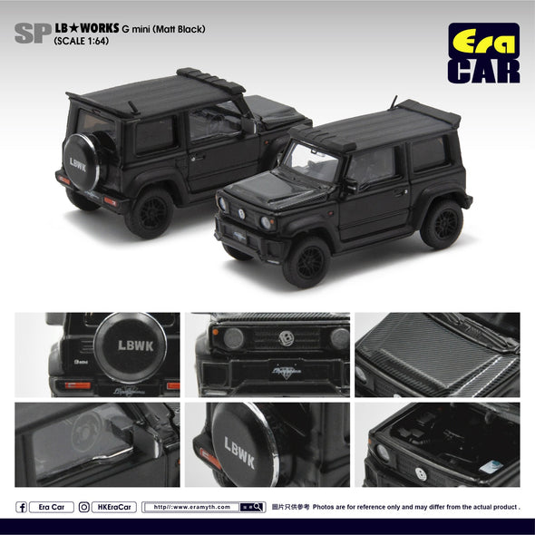 ERA CAR SP21 LB Works - Suzuki G mini SP Edition  (Matt Black)