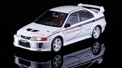 Tarmac Works 1/18 Mitsubishi Evolution V RS tuned by Mine's - T03-MN