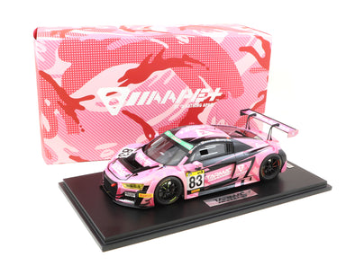 Tarmac Works 1/18 AUDI R8 LMS SUPER TAIKYU SERIES 2018 #83 AAPE+ / TARMAC WORKS MARCHY LEE / MELVIN MOH / KW LIM  - T18-004-18ST83