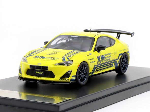 Tarmac Works 1/43 Toyota 86 - Tuned by JUN T43-005-JUN