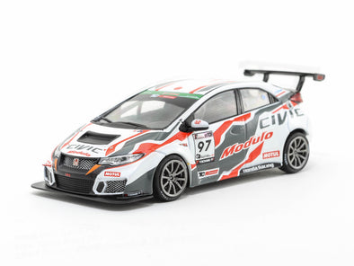 Tarmac Works 1/43 Honda Civic Type R TCR (FK2) Super Taikyu Series 2017 #97 - T43-007-17ST97