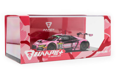 Tarmac Works 1/43 Audi R8 LMS Super Taikyu Series 2018 AAPE+ / Tarmac Works #83 Marchy Lee / Melvin Moh / KW Lim - T43-011-18ST83