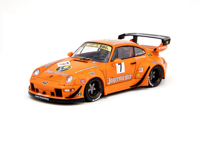 Tarmac Works Hobby43 RWB 993 Jagermeister (Asia Special Edition) - T43-014-JA