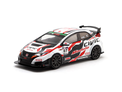 Tarmac Works Hobby64 Honda Civic Type R FK2 Super Taikyu Series 2017 livery - T64-003-17ST