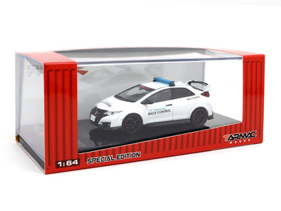 *Limited 3 PER PERSON - Tarmac Works Hobby64 Honda Civic Type R FK2 Suzuka Circuit Safety Car (Special Edition) - T64-003-OF