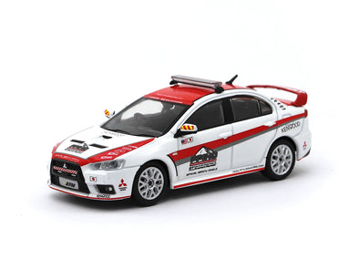 Tarmac Works 1/64 Mitsubishi Lancer Evolution X  Pikes Peak Safety Car - Release 3 - T64-004-PP