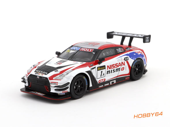 Tarmac Works HOBBY64 Nissan Nismo GT-R R35 GT3 Bathurst 12h 2016 2nd Place - T64-005-BH16