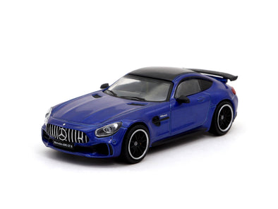 Tarmac Works HOBBY64 Mercedes-AMG GT-R Brilliant Blue - T64-006-BB