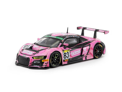 Tarmac Works HOBBY64 Audi R8 LMS Super Taikyu Series 2018 #83 AAPE+ / Tarmac Works Marchy Lee / Melvin Moh / KW Lim- T64-007-18ST83