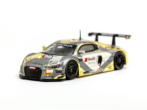 Tarmac Works HOBBY64 Audi R8 LMS Blancpain GT Series Asia 2017 Phoenix Racing Asia Marchy Lee / Shaun Thong - T64-007-BGSA17A