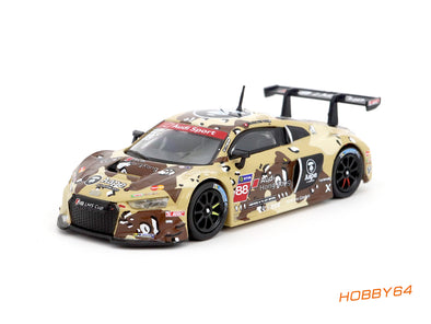 Tarmac Works Hobby64 Audi R8 LMS Cup 2016 Shanghai Round AAPE / Audi HK Marchy Lee - T64-007-CUP16DST