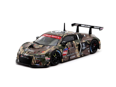 Tarmac Works Hobby64 Audi R8 LMS Cup 2016 Taiwan Round AAPE / Audi HK  Marchy Lee - T64-007-CUP16GRN