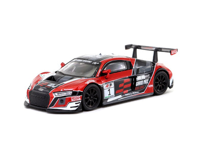 *Limit to TWO per person / address. Tarmac Works HOBBY64 Audi R8 LMS eRacing Grand Prix Hong Kong Special Edition