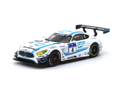 Tarmac Works HOBBY64 Mercedes AMG GT3 Black Falcon Nurburgring 24h 2016 Winner - Release 3 - T64-008-BF02