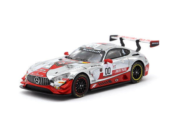 "Tarmac Works HOBBY64 Mercedes-AMG GT3 SPA 24h 2016 ""Linkin Park"" livery Buurman / Engel / Schneider - Release 4 - T64-008-BF03"