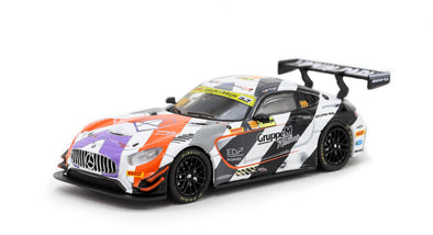 Tarmac Works HOBBY64 Mercedes-AMG GT3 FIA GT World Cup 2018 3rd Place Maro Engel - T64-008-MGP17ENG