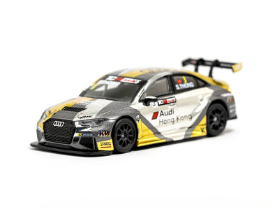 Tarmac Works HOBBY64 Audi RS3 LMS TCR Asia 2017 Audi HK / Phoenix Racing Asia Shaun Thong - T64-013-17TCR3