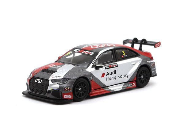 Tarmac Works HOBBY64 Audi RS3 LMS TCR Asia 2017 Phoenix Racing Asia - T64-013-17TCR5